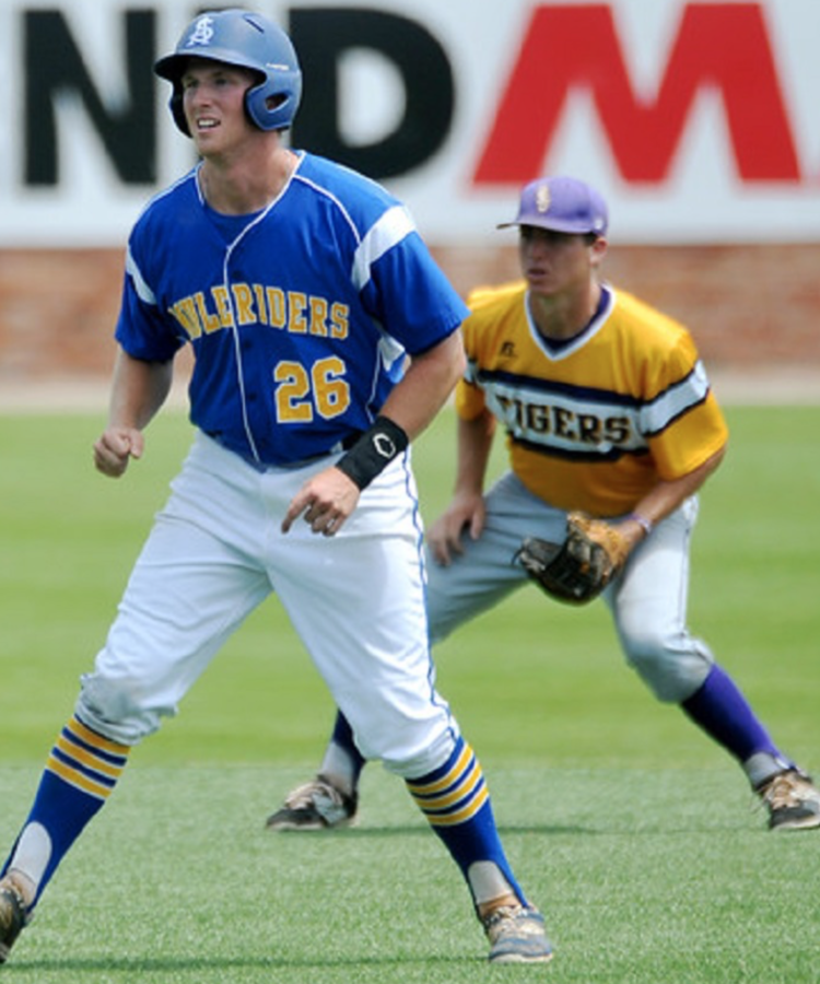 Billy Germaine (Aldergrove, BC) hit .338 with 17 doubles, two triples, 12 homers and 66 RBIs with a 1,046 OPS for the Southern Arkansas Muleriders.