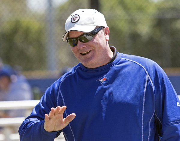 Eric Wedge is the new field co-ordinator of the Toronto Blue Jays. Photo courtesy of John Lott, The Athletic.