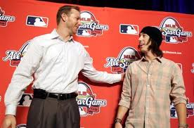 Roy Halladay, left, faced Tim Lincecum in the 2009 all-star game in St. Louis.
