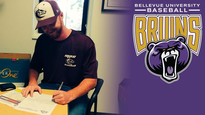 LHP Dylan Thorp (North Vancouver, BC) signing with the Bellevue Bruins,
