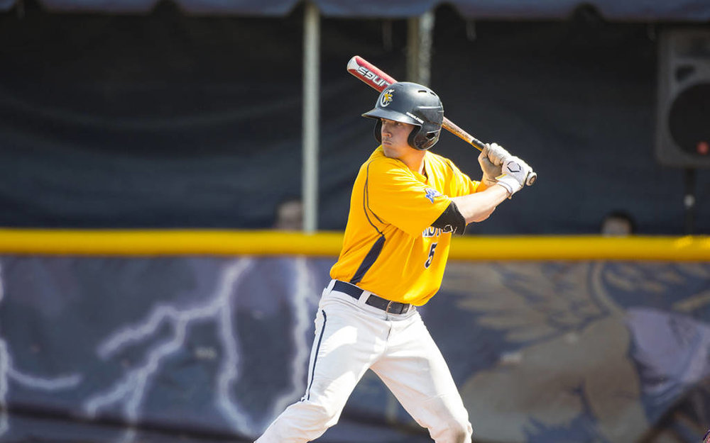 INF Jake Lumley (WIndsor, Ont.) of the Canisius College Golden Griffs is the highest ranked Canuck in his conference heading into the June draft. Photo: tomwolf.smugmug.com