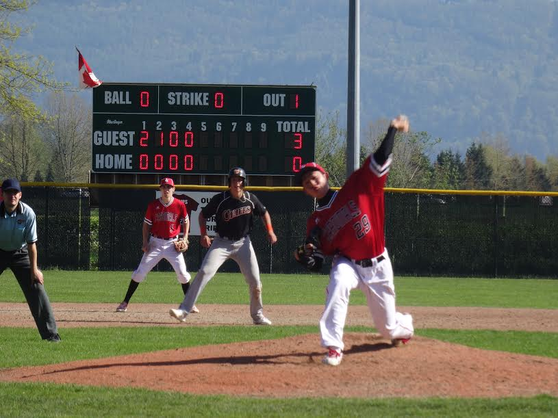 LHP Taisei Yahiro, of the Abbotsford Cardinals.