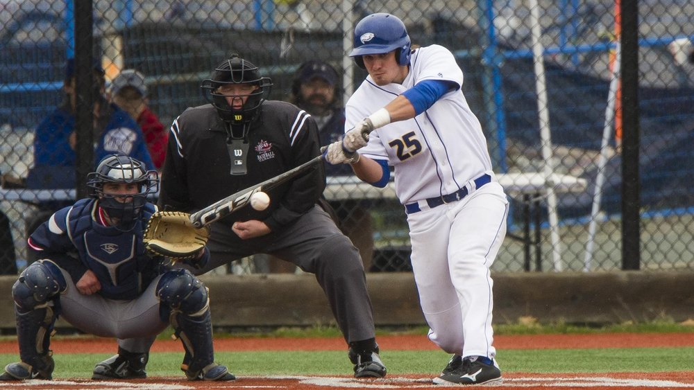 Anthony Cusati (Burnaby, BC) hit a three-run homers as the UBC Thunderbirds rallied from a 11-1 loss to knock off the No. 1 ranked Lewis-Clark Warriors 20-14.