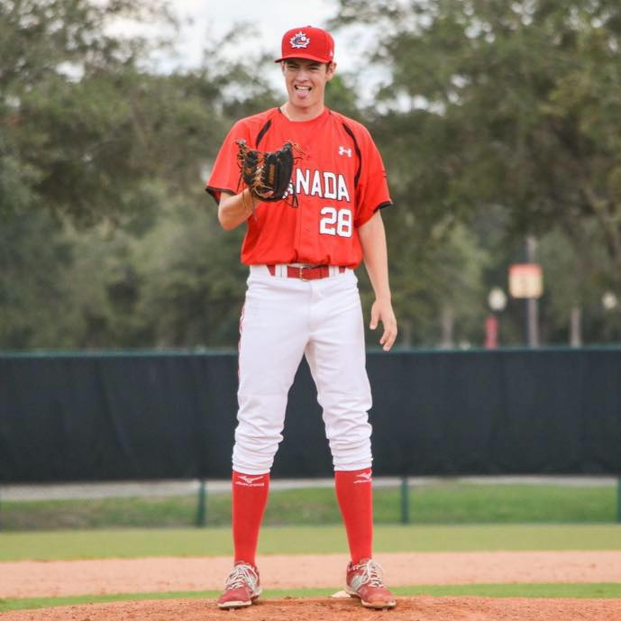 LHP Jack DeCooman (North Vancouver, BC) is back with the Canadian Junior National Team.