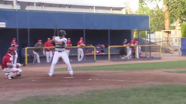 Rhys Cratty (Surrey, BC) continues the line of impressive Langley Blaze right-hander hitters to call McLeod Athletic Park home.