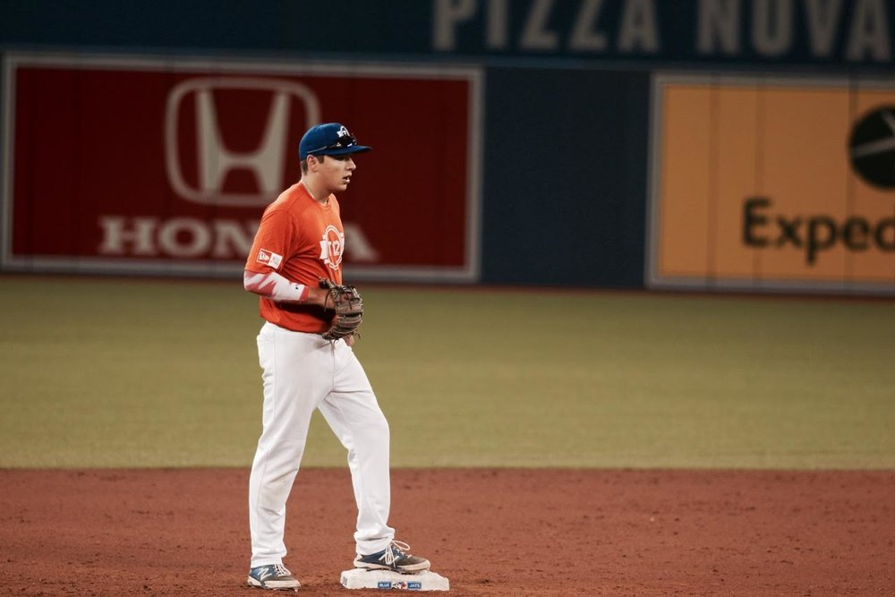 Rhys Cratty at Tournament 12 at the Rogers Centre. Photo: Tyler King.