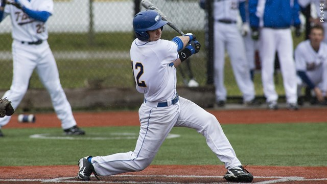 UBC C Mackenzie Parlow went a perfect 3-for-3 at the plate driving in a pair of runs in Game 1 while DH Mitch Robinson went 2-for-3 with three RBI and a walk.