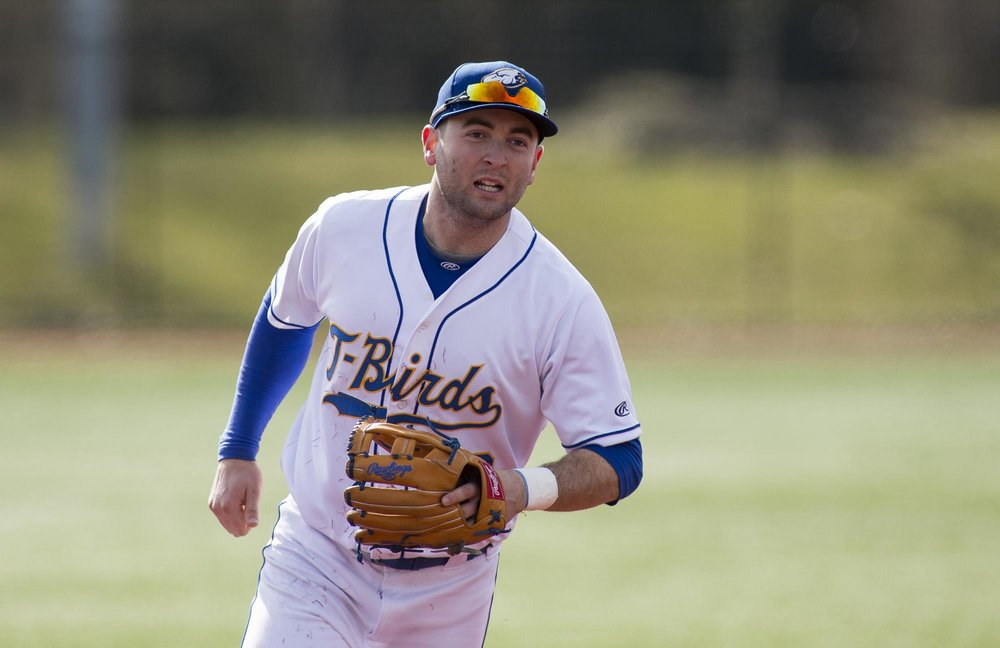 Mitch Robinson (Surrey, BC) of the UBC Thunderbirds had seven hits on the week.