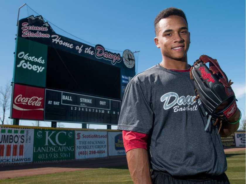 OF Clayton Keyes (Calgary, Alta.) of the Okotoks Dawgs is expected to be the top player from Alberta selected come June.