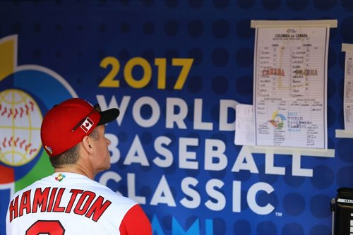 Greg Hamilton, director of national teams, found his lineup card was lacking compared to the three previous WBCs.