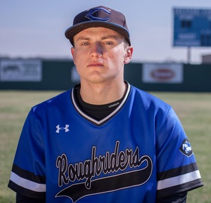 Kyle Blackwell (Waterdown, Ont.) had six hits and knocked in four runs for the Crowder Roughriders.