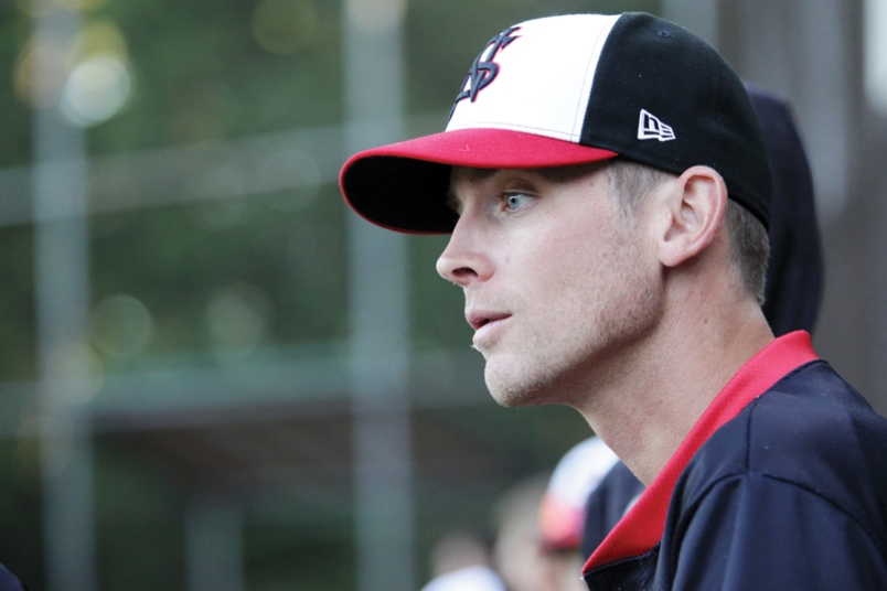 Brooks McNiven (Vernon, BC), who pitched seven years in the San Francisco Giants, is managing the North Shore Twins.