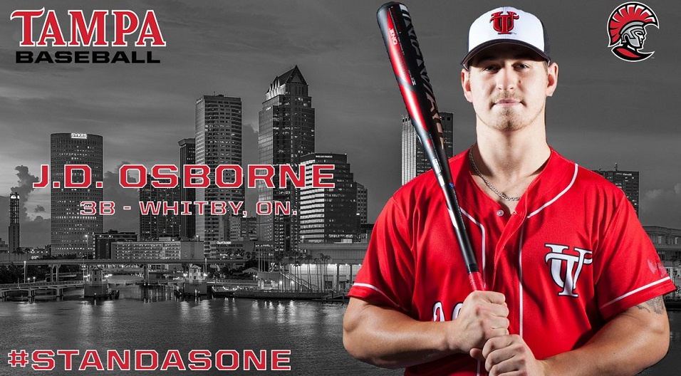 Another week and more honours for J.D. Osborne (Whitby, Ont.) the former Toronto Met.