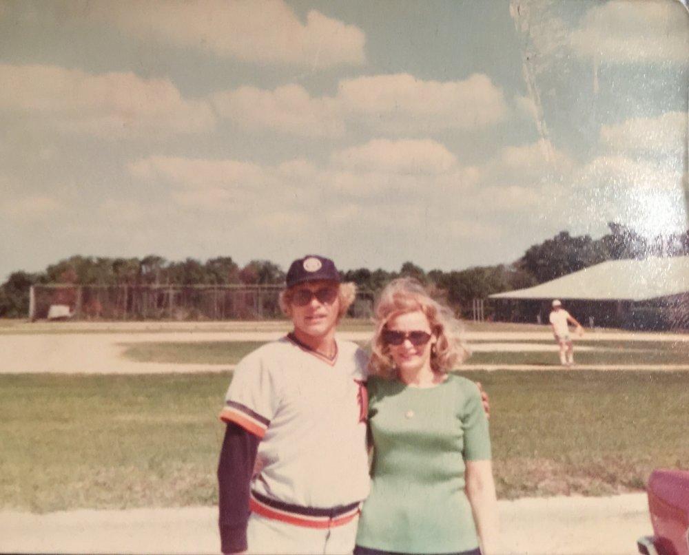 Whitey and his mom at Lakeland
