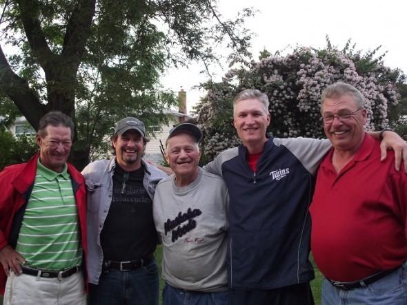 The Mount Rushmore of Etobicoke baseball:Bobby Smyth, Mike Gauthier, the late Nick Rico, Greg O'Halloran and Whitey Breitner.