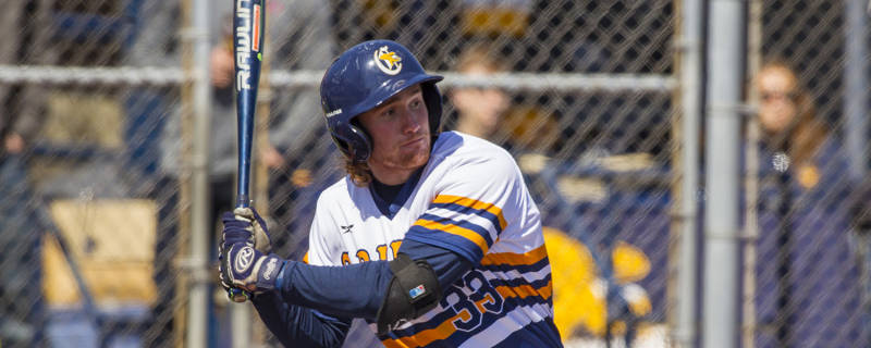 Liam Wilson (Ayr, Ont.) had five hits for the Canisius Golden Griffs.