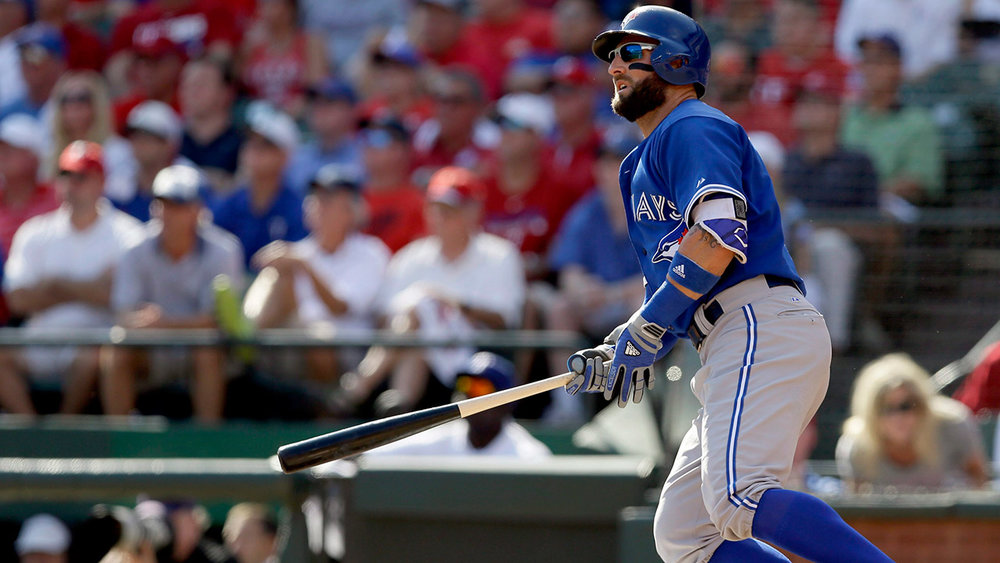 It's a bird, it's a plane, it's a ... offensively disciplined Kevin Pillar ? (photo: sportsnet.ca)