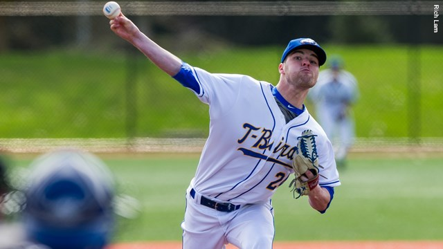 Tyson Gillies (London, Ont.) pitched eight innings allowing three runs as UBC was blanked 3-0 by Lewis-Clark State.