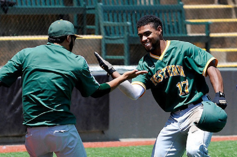 Christopher Acosta-Tapia (Laval, Que.) continues to wield a hot bat for Oklahoma Wesleyan