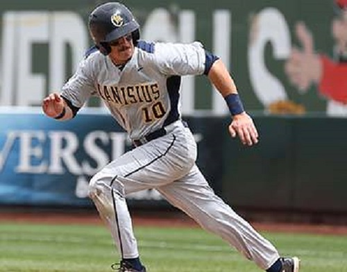 INF Jake Lumley (Windsor, Ont.) had a five-hit week for the Griffs.