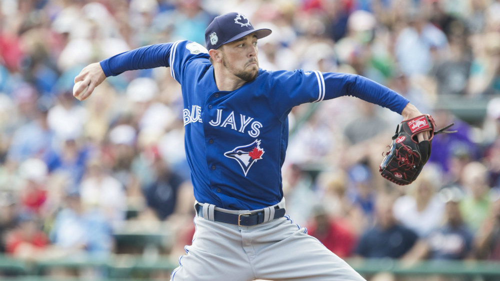 RHP Casey Lawrence, Buffalo Bisons' Comeback Player of the Year in 2016 was supposed to start opening day for Buffalo. Instead, he headed to airport. Destination: Blue Jays bullpen.