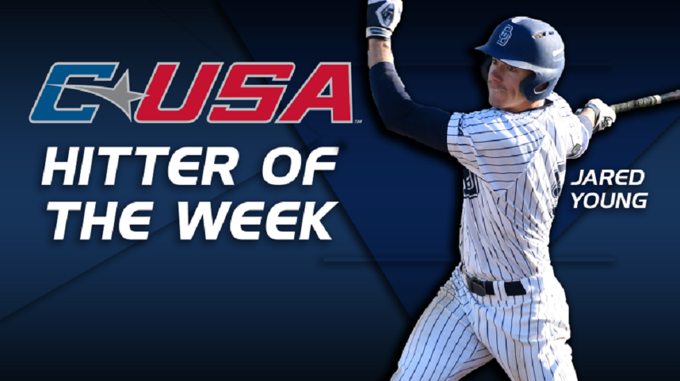 Old Dominion Monarchs Jared Young (Prince George, BC) earned Conference USA Hitter of the Week honors. The former Okanagan Athletics hit .667 (16-for-24) with five home runs, three doubles and 11 RBIs and an OPS of 2.097.