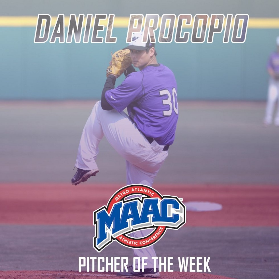 RHP Daniel Procopio (Toronto, Ont.) struck out 11 for Niagara allowing one in seven innings.