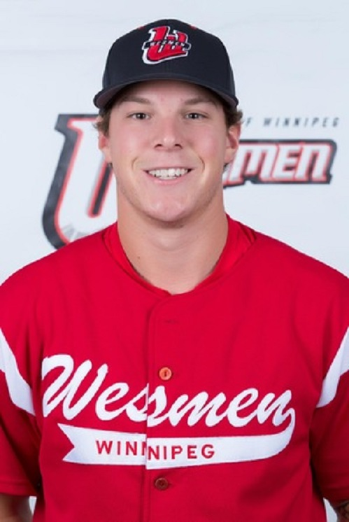 RHP Tyler Moskalyk (Thunder Bay, Ont.) worked seven innings in a no decision for the Winnipeg Wesmen.