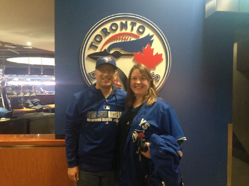 Nick Papas and Kim Giles are not your average Blue Jays fans or average season ticket holders -- both live in Phoenix.