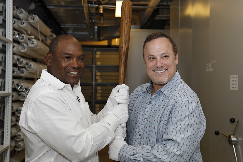 Tim Raines and his agent Randy Grossman