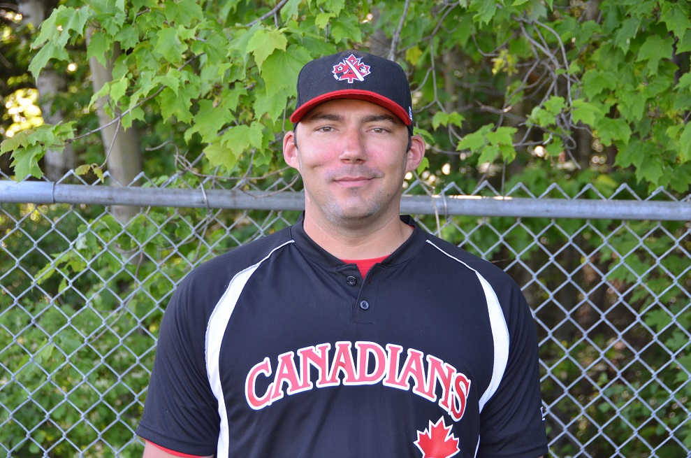 Tanner Watson (Arnprior, Ont.) who pitched five years in the minors is a coach with the Ottawa-Nepean Canadians