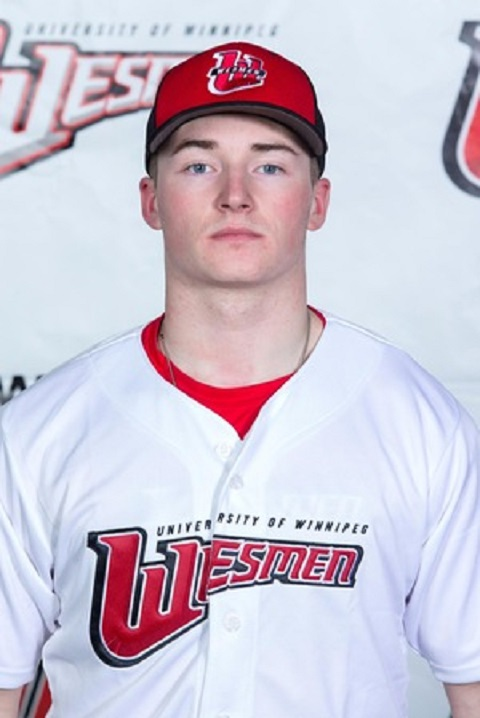 Aiden Brook (Oakbank, Man.) drove in six runs for the Wesmen hitting .462 for the week.