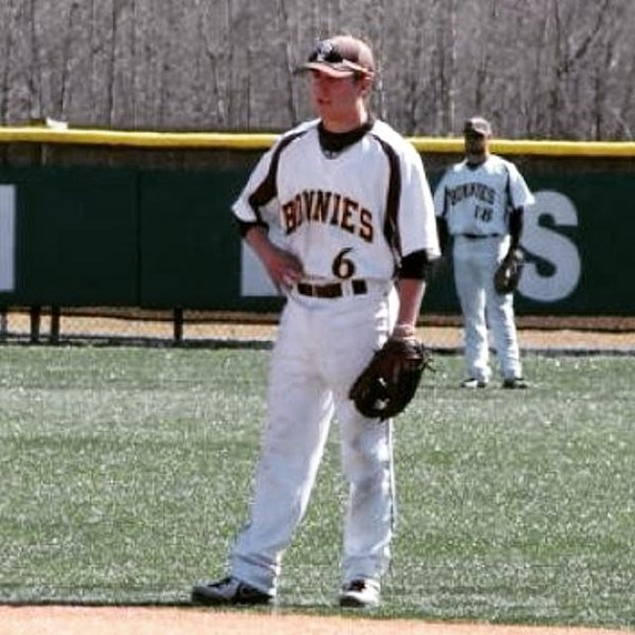 Jared Baldinell (Niagara Falls, Ont.) had five hits driving in a pair for the Bonnies.