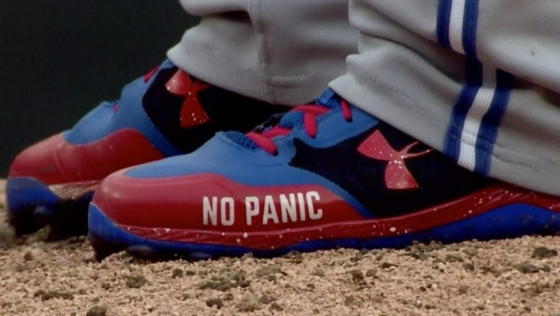 Make like Roberto Osuna's shoes and DON'T PANIC!