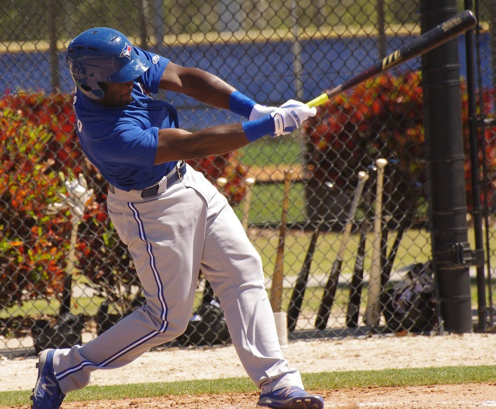 Anthony Alford is off to a blazing start at Double-A. All Photos: Jay Blue