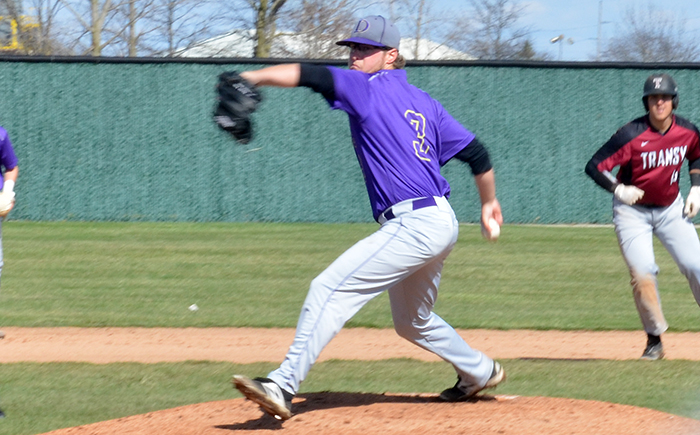 RHP Dave Blanch (Alliston, Ont.) pitched 8 2/3 innings allowing two runs.