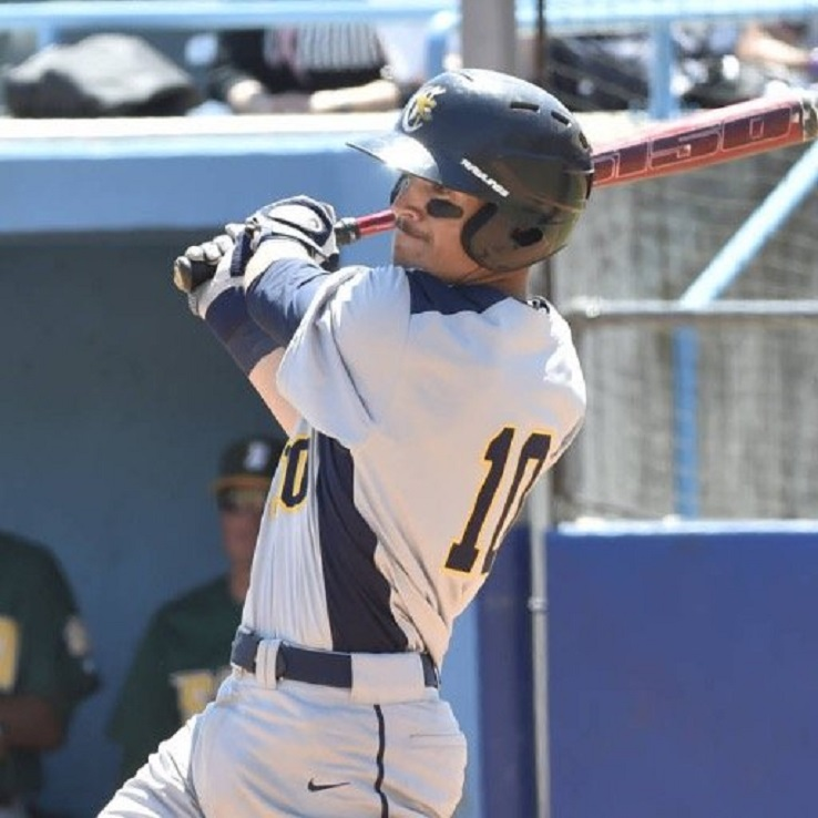 Jake Lumley (Windsor, Ont.) enjoyed the week with nine hits in 18 at-bats.