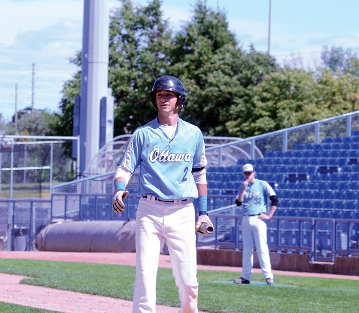 Justin Emond (Russell, Ont.) had six hits and six RBIs.