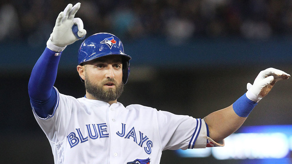 Give thanks for Kevin Pillar at leadoff - it's about all Jays fans can be thankful for thus far. (Photo: Associated Press via mlb.com)