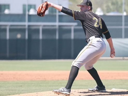 Former Great Lake Canadians right-hander Austin Shields is set for his first full professional year in the Pittsburgh Pirates organization.