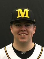 Ontario Blue Jys grad Stuart Martin (Eden Mills, Ont.) had a pair of saves for Monnroe