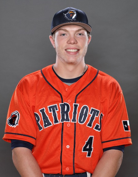 Vauxhall Jets grad Alex Bishop (Calgary, Alta.) batted .462 with five RBIs.