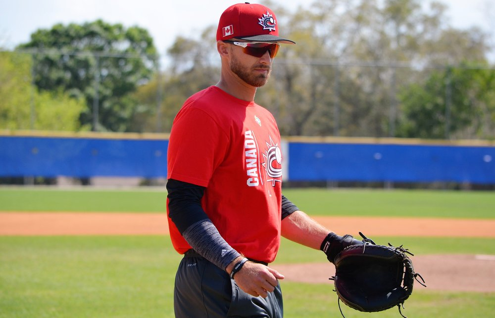 After suiting up for Canada at the World Baseball Classic in March, Peterborough, Ont., native Mike Reeves has rejoined the Dunedin Blue Jays to start the 2017 season. Photo Credit: Alexis Brudnicki