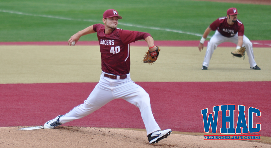 Ontario Royals grad Kyle Thomas (Mississauga, Ont.) pitched a seven-inning shut out to earn conference honours.