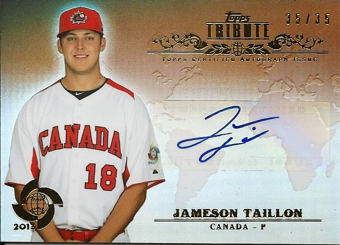 RHP Jameson Taillon (The Woodlands, Tex.), selected second over-all in 2010, receieved the highest-ever signing bonus amongst Canadians.
