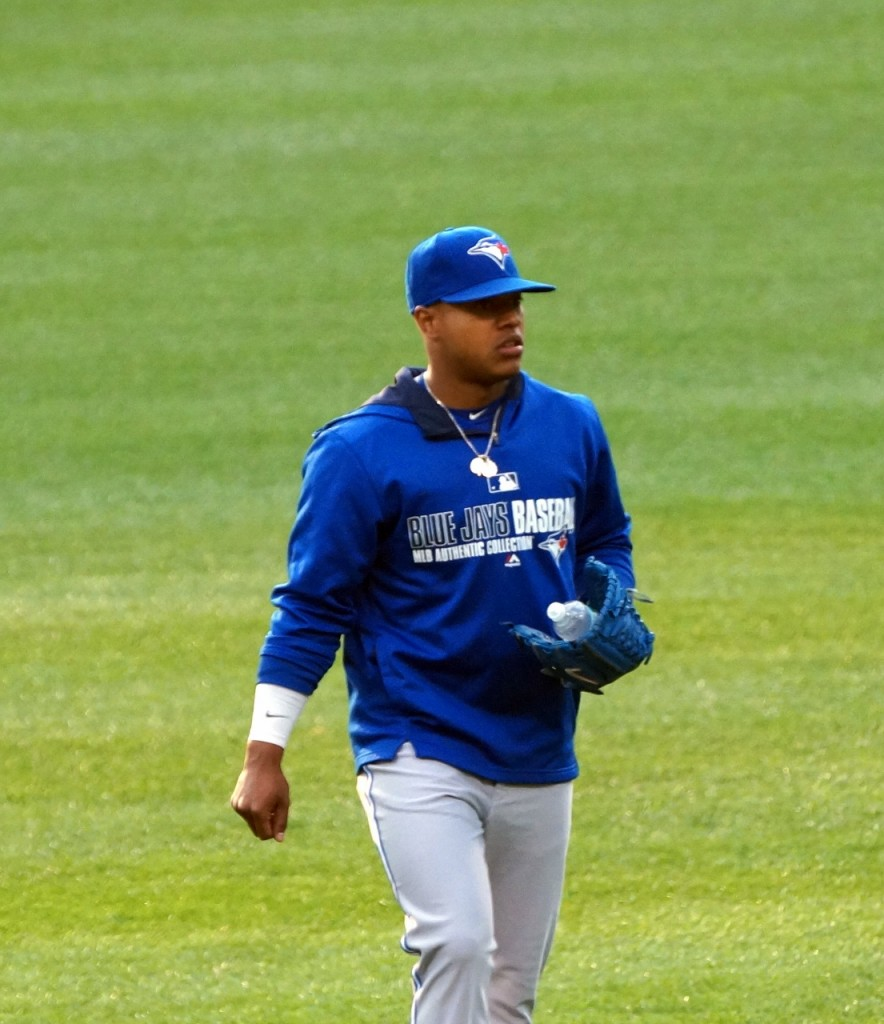 Toronto Blue Jays starter Marcus Stroman pitched just three innings in Thursday's game against the New York Yankees before exiting with arm tightness. Photo Credit: Jay Blue