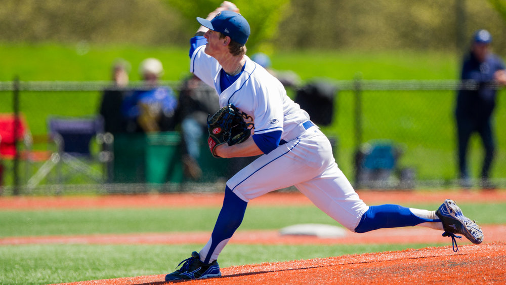 RHP Connor Noble (Vancouver, BC) took the loss in the opener of the double knock-out tourney.