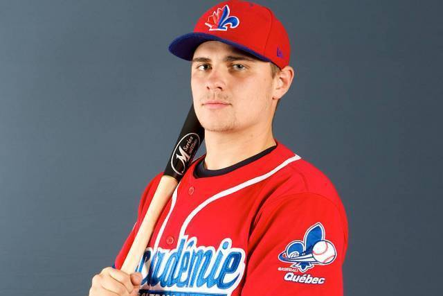 ABC grad James Grondin (Saint-Denis de Brompton, Que.) hit .636 for the week.