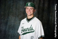 Prairie Baseball Acadmey's Nicholas Ankerman (Lethbridge, Alta.) batted .444 for the week.