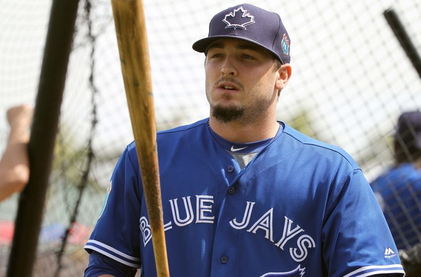 The Toronto Blue Jays recalled outfielder Darrell Ceciliani prior to Tuesday's game against the Atlanta Braves.